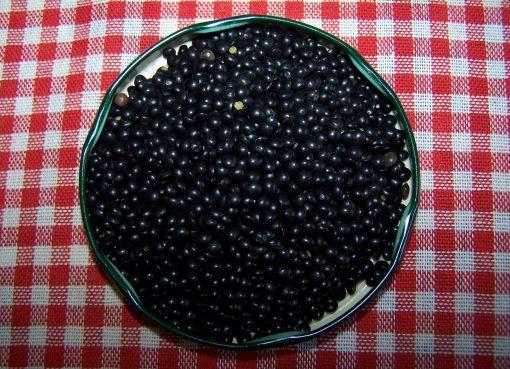 aliment noir
