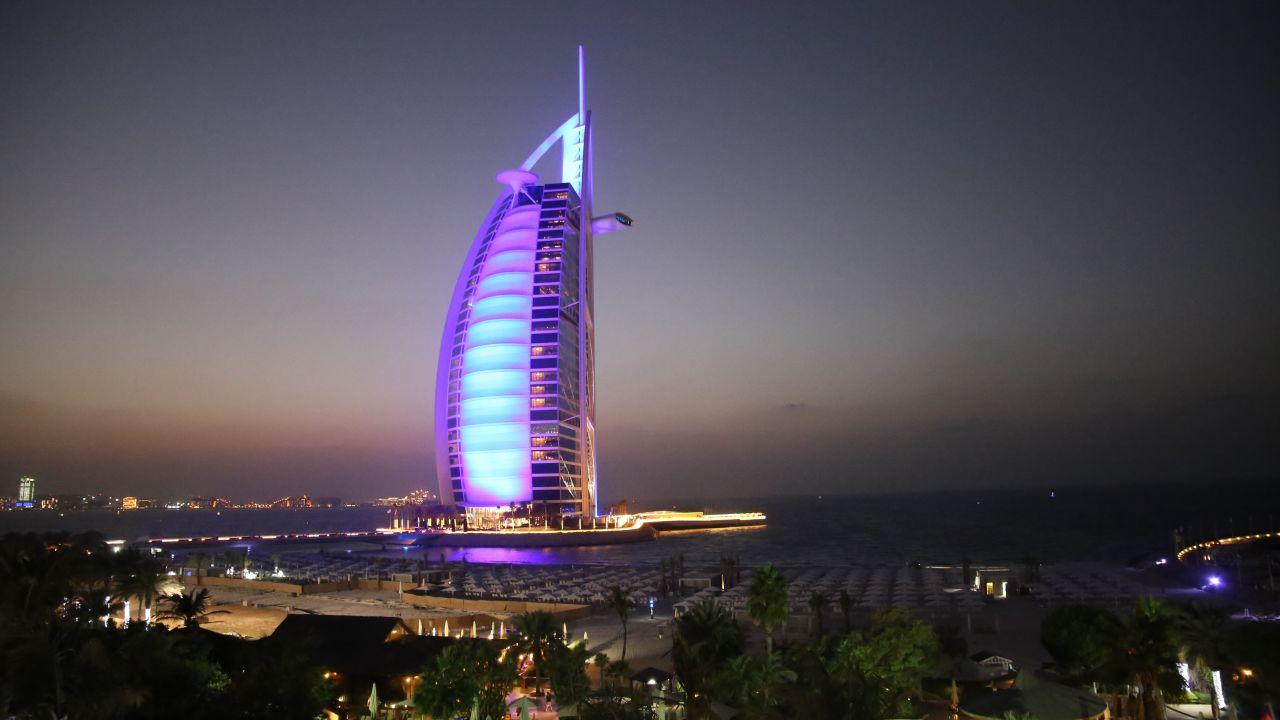 Burj Al Arab, Dubai hôtels de luxe