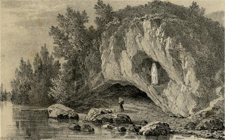 lieu les plus mystérieux la grotte Massabielle