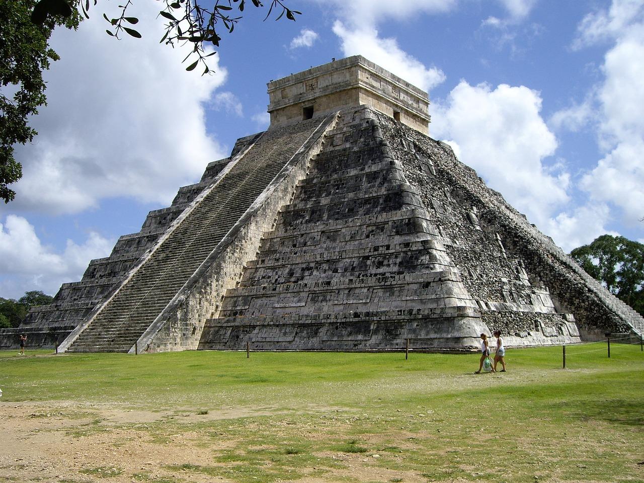 lieu les plus mystérieux temple mayas au mexique