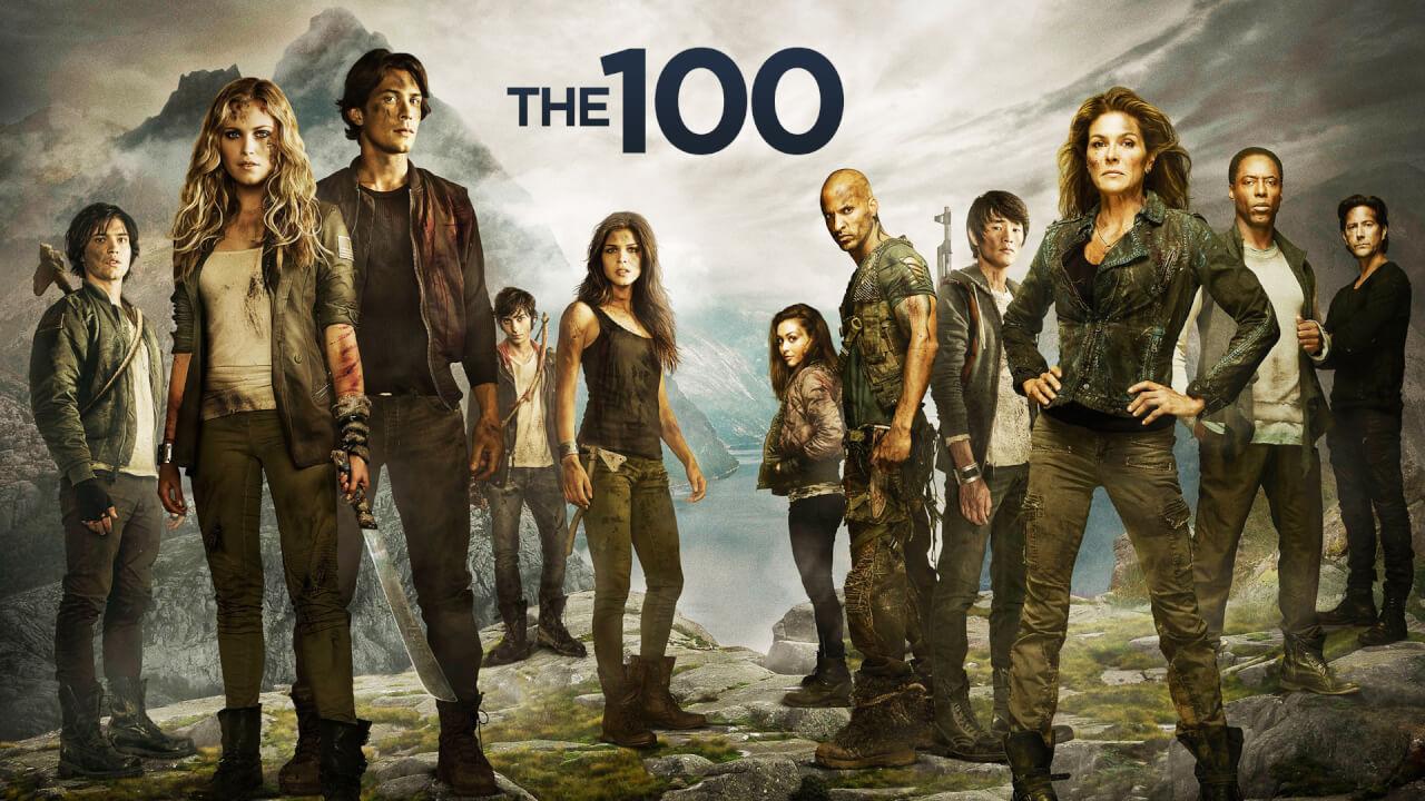 top séries the 100
