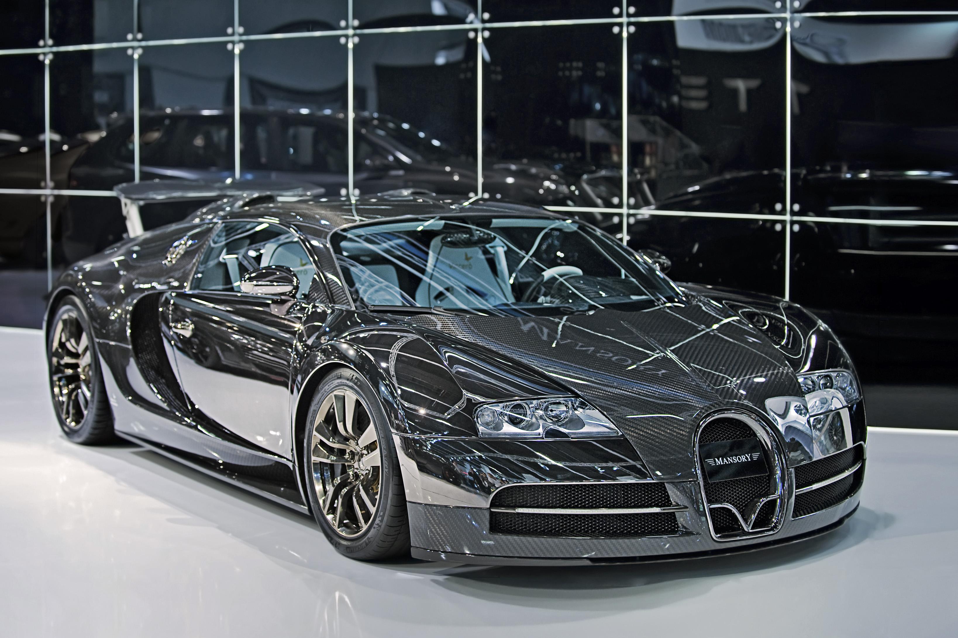 voiture de luxe Bugatti Veyron Vivere