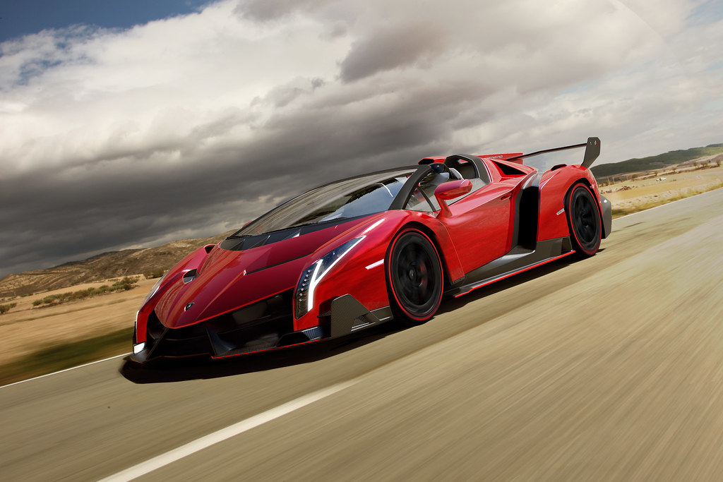 voiture de luxe Lamborghini Veneno