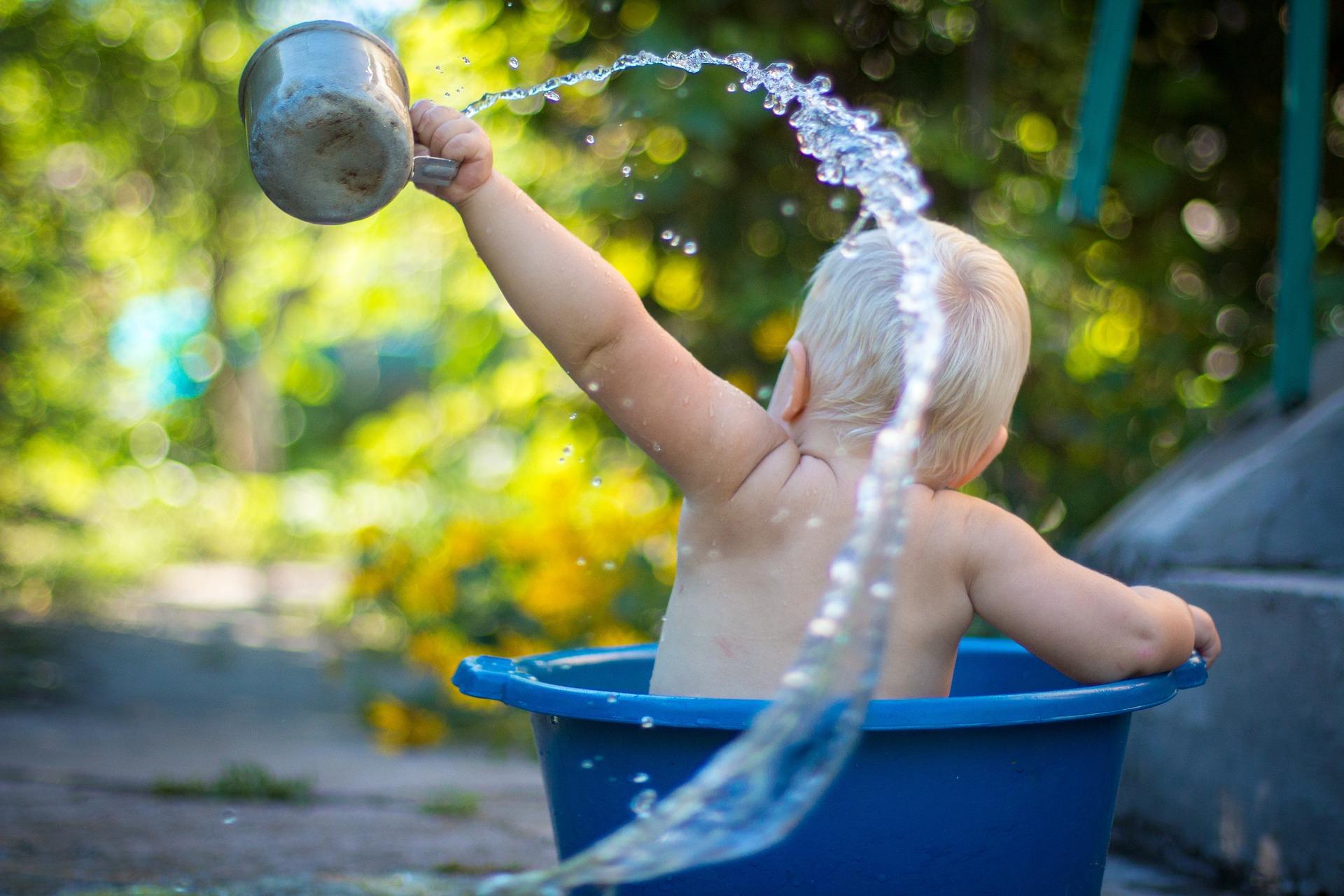 bébés nageurs : pouvoirs corps humain