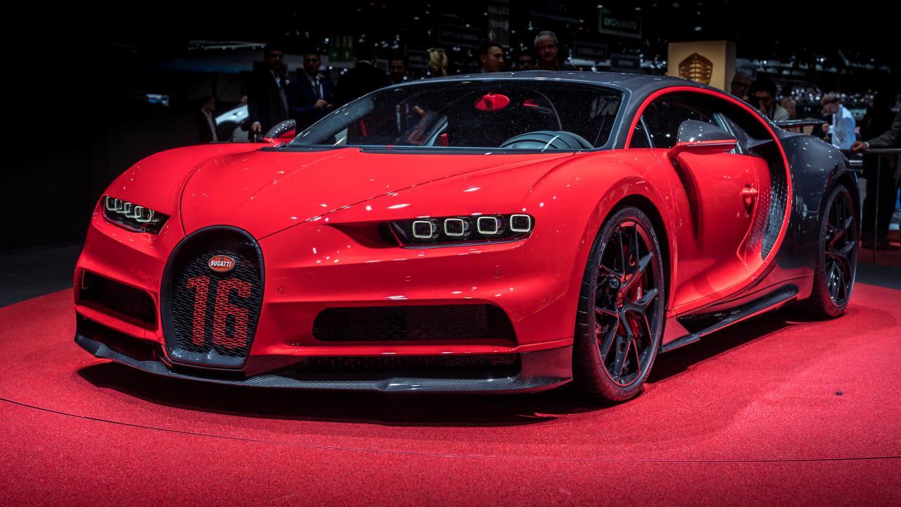 voiture de luxe Bugatti Chiron Sport