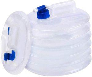Réservoir eau pliable