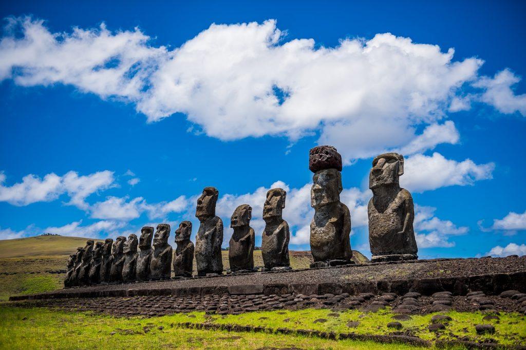 lieu les plus mystérieux L'Île de Pâques